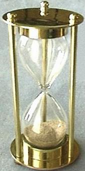 Refillable Egg Timer, Front View