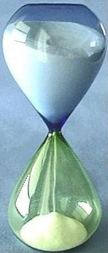 Murano Hour Glass