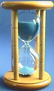 Light Wood Hourglass, Front view