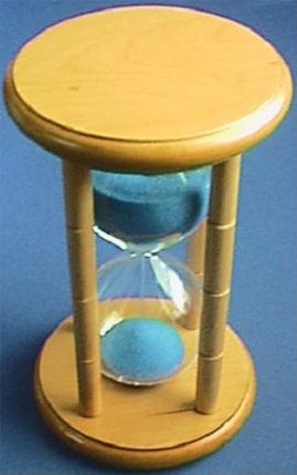 15-Minute Hourglass, Top View