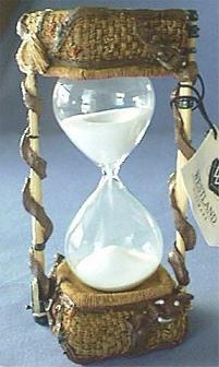 Fishing Theme Hourglass