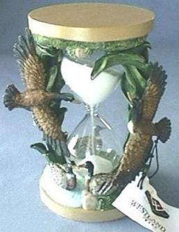 Hunting Theme Hourglass