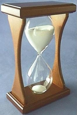 Mahogany Hourglass, Back Left View