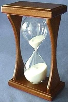Mahogany Hourglass, Front Right View