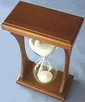 Mahogany Hourglass, Top View