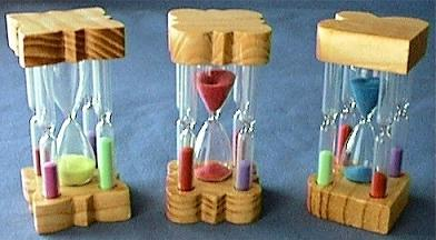 Colorful Egg Timers