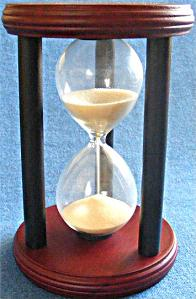 3-Minute Hourglass - Front View